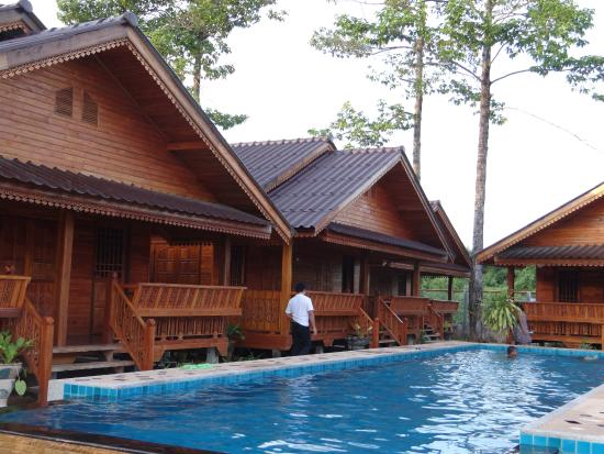 My dream house with swimming pool for Dream wooden house
