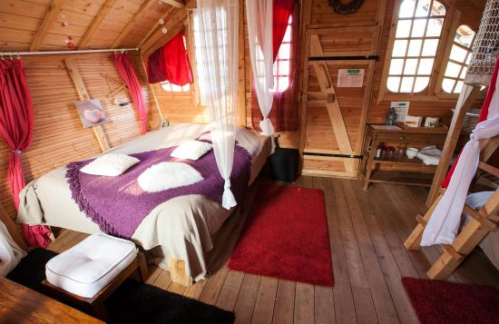 sandaya paris cabane zen int rieur picture of camping. Black Bedroom Furniture Sets. Home Design Ideas