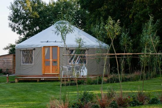 The Old Piggery Bed and Breakfast: Old Spot Yurt - External