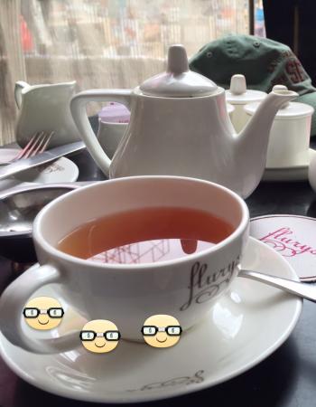Flury's : Darjeeling tea served as it should be served ...