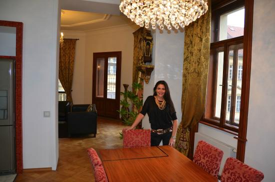 Our guests in the presidential apartment picture of for Malostranska residence tripadvisor