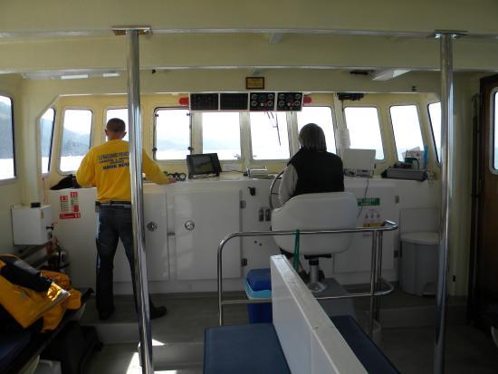 Ilfracombe Princess : Inside the boat