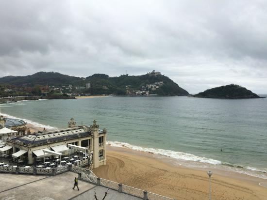 Hotel Niza: Vista desde el balcón