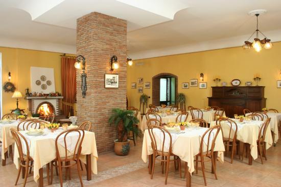 Hotel Degli Amici: sala colazione