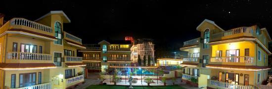 Marina Bay Beach Resort Night View