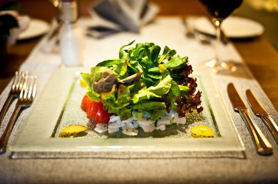 Hotel Landhaus: Gmischta Salat oder grüena Blattsalat