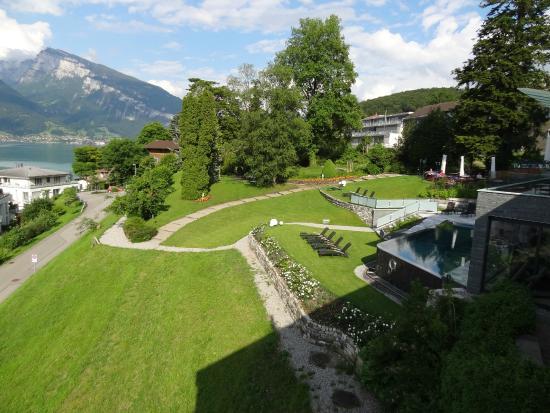 Belvedere Strandhotel & Restaurant: Standard room with lake view
