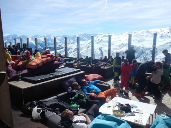 Kristallhutte im Zillertal: Terrasse