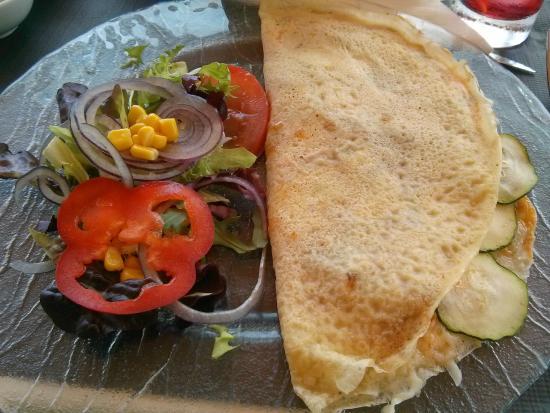Solleric: Crepe vegetariana