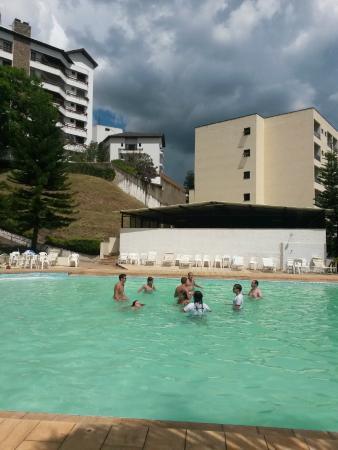 Grande Hotel Serra Negra: piscina externa
