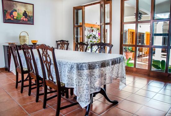 Casa Los Arquitos B&B: Espacio donde recibirás tu exquisito desayuno