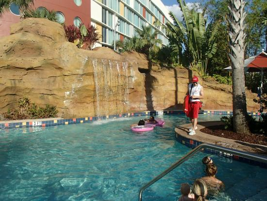 Universal S Cabana Bay Beach Resort Here A View Of The Lazy River Ride It