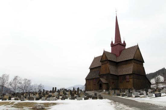 Ringebu Stave Church, March 2015