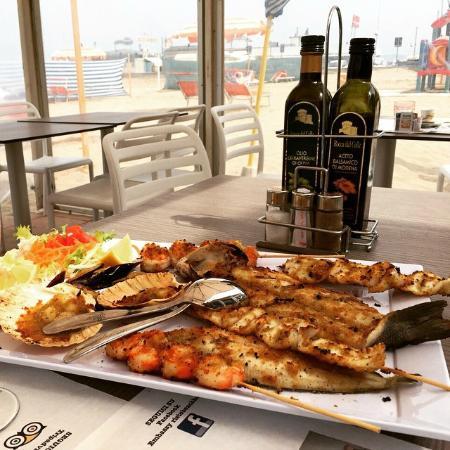 Bar Ristorante Embassy : Grigliata di pesce