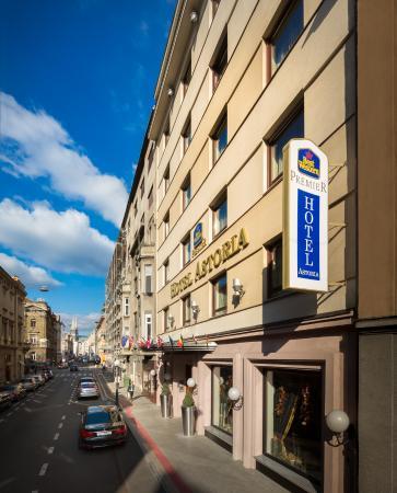 BEST WESTERN PREMIER Hotel Astoria: FRONT