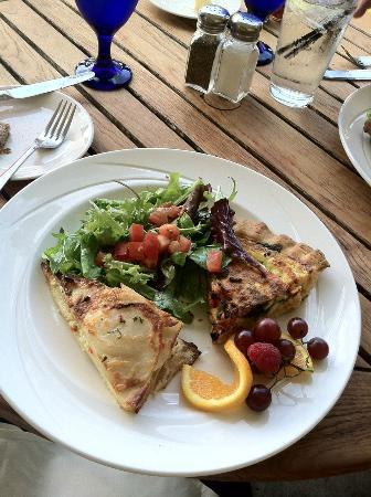 Port Ludlow, WA: My quiche