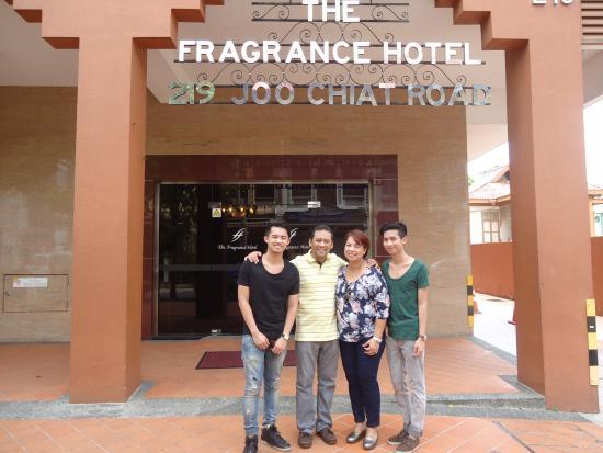 The Fragrance Hotel (Joo Chiat) : Hotel entrance