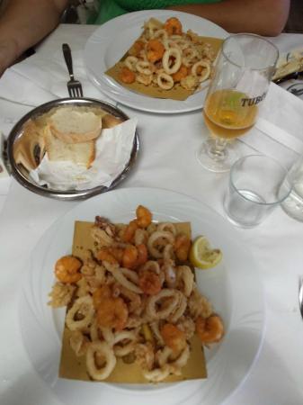 Fritto da urlo foto di bagno bologna bolognino beach restaurant punta marina terme - Bagno bologna punta marina ...
