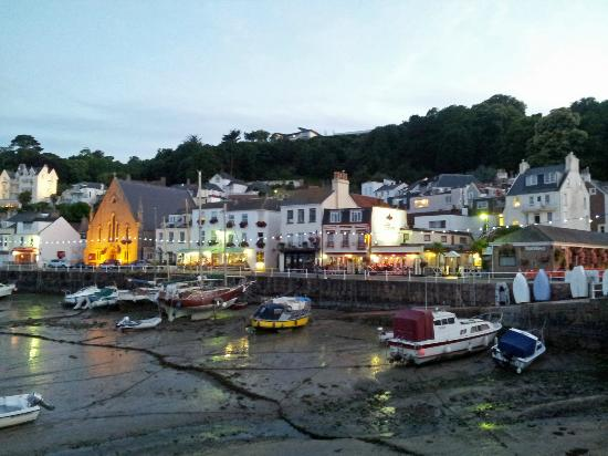 The Tenby across the harbour