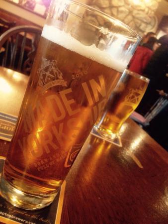 The New Inn: Yorkshire Lager & Yorkshire Cider