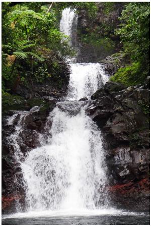 Lavena Coastal Walk: водопадик
