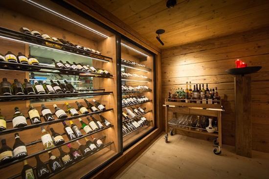 Weinschrank - Picture of Restaurant Baren Gonten, Gonten - TripAdvisor