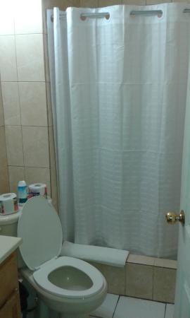 Johnston Apartments: Bathroom. Clean enough