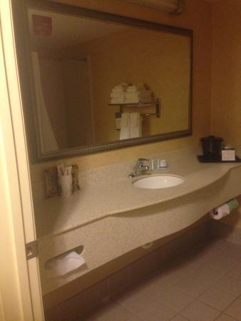 Sleep Inn & Suites: Nice big bathrooms and lots of hot water��