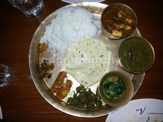 yeti the himalayan kitchen veg thali - Himalayan Kitchen