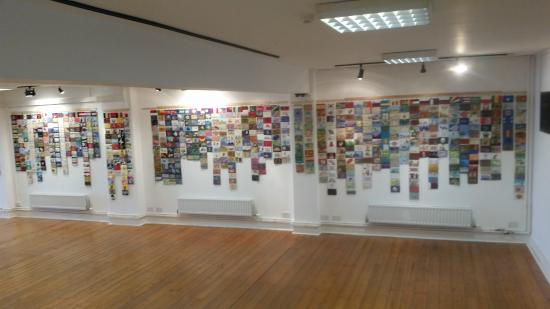 Letchworth, UK: exhibition gallery