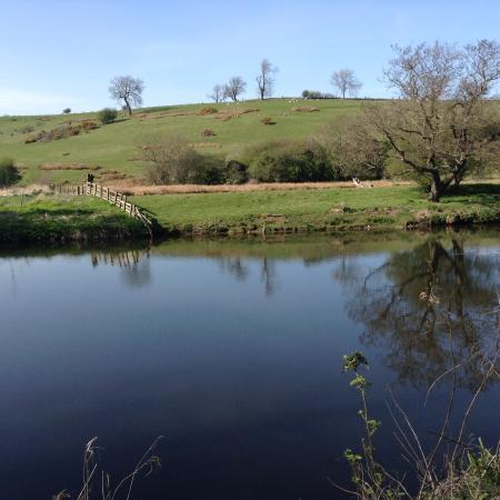 Anglers Arms: A stroll beside the river.