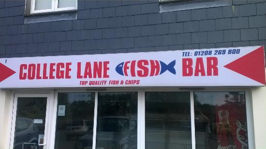 College Lane Fish Bar