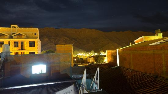 Hotel La Torre: On the roof at night
