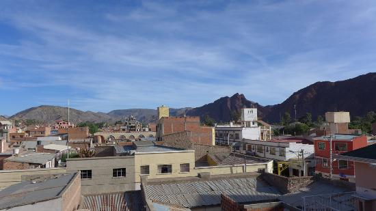 Hotel La Torre: Rooftop-View from the Torre-Hotel