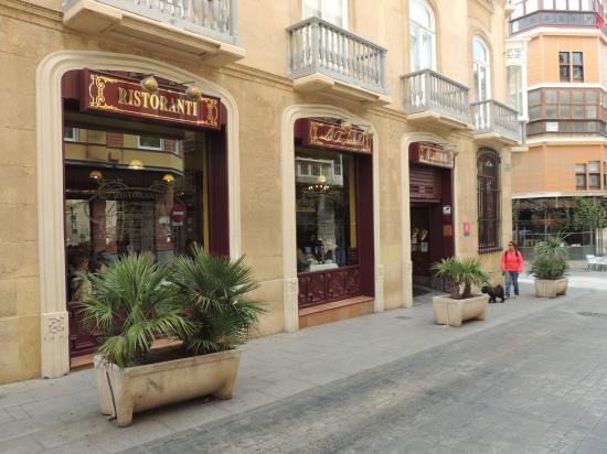 La Tagliatella: Restaurant frontage