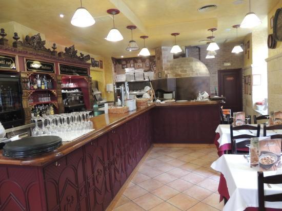 La Tagliatella: One of two dining areas