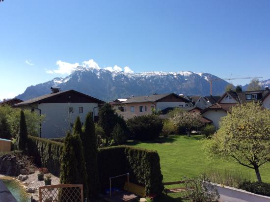 Hotel Himmelreich: View from my balcony