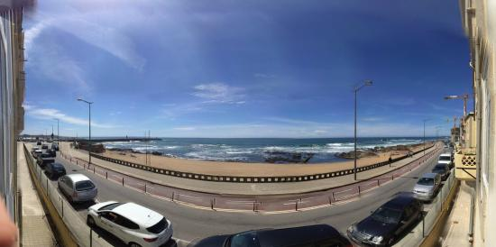Flattered To Be In Porto: View from apartment (180 degree)
