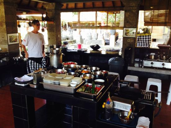 Bumbu Bali Cooking School: This is where all the magic happens - KITCHEN