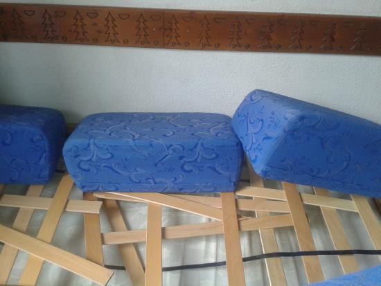 Silveralp: La canapé lit