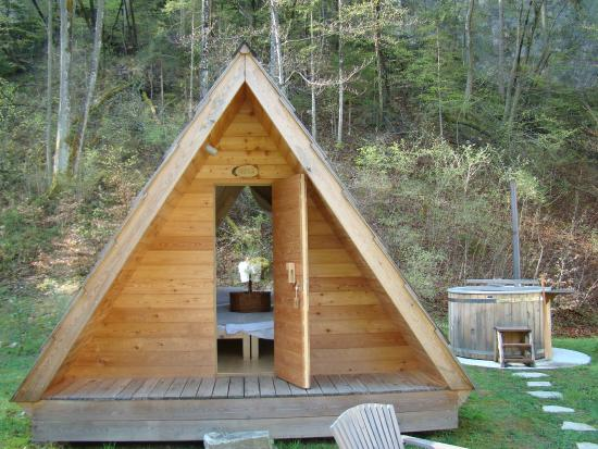 glamping hut picture of camp bled bled tripadvisor