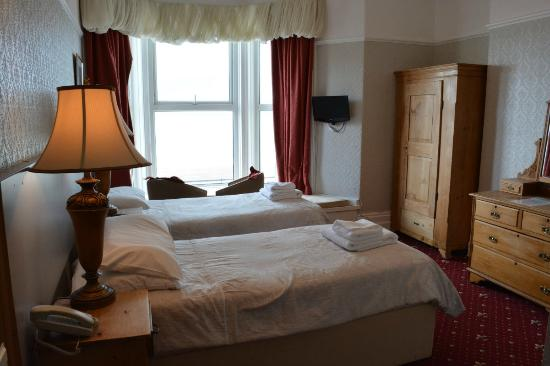 Kinmel Hotel: Sea View Room