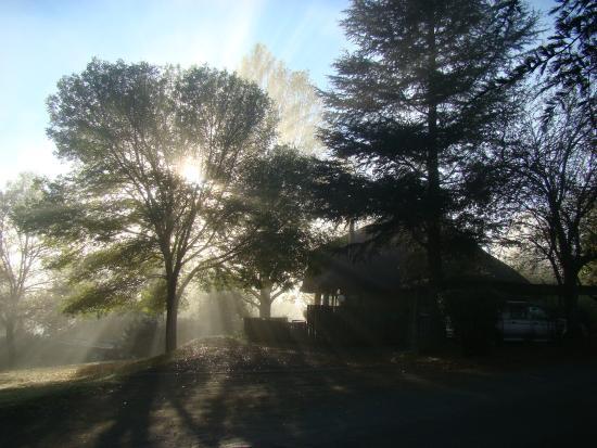Castleburn Leisure Resort: Our chalet in the mist