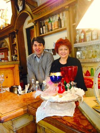 Gilda Bistrot: William Nocentini and Gilda Gradi, co-proprietors