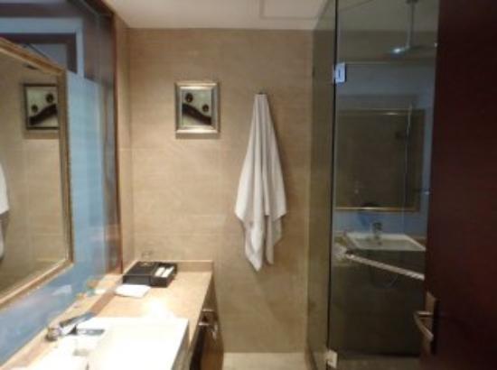 Jinwangjiao Hotel : 11階バスルーム