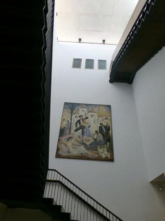 Museo de Bellas Artes Gravina: Stiegenhaus