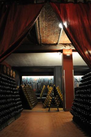 Cocconato, Италия: sala  spumanti