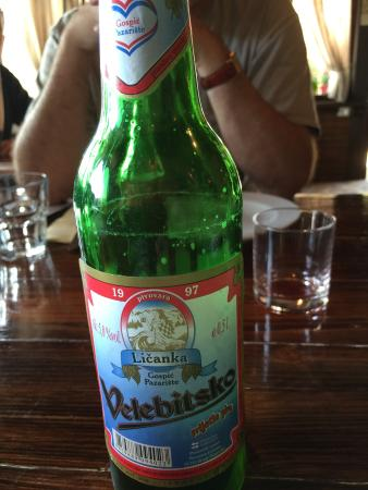 Konjevrate, Croatia: Great local beer