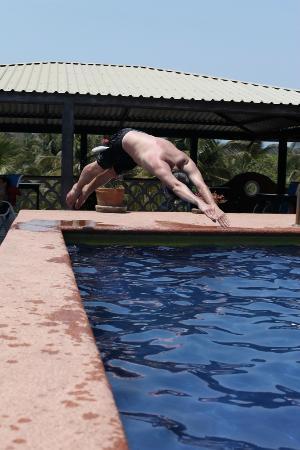 Hotel Flor de Maria: Мой прыжок