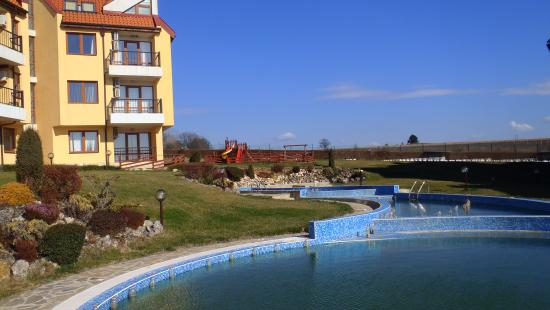 Kamchia, Bulgaria: Basen środkowy w marcu